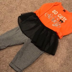 Halloween Baby Girl Outfit